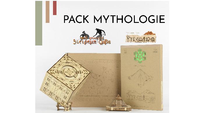 Découvrez le pack Mythologie NKD Puzzle. Un kit qui comprend des jeux de construction ludiques et én...