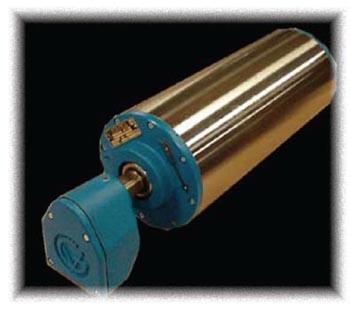 Van der Graaf marknadsför ett komplett sortiment av trummotorer med storlek från diameter 100 mm til...