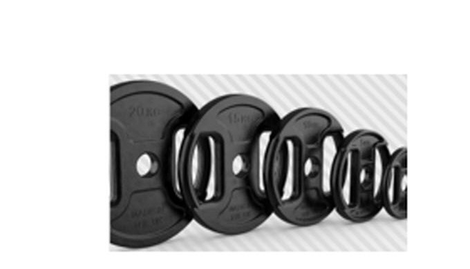 HOME FITNESS - HYBRID WEIGHT PLATES