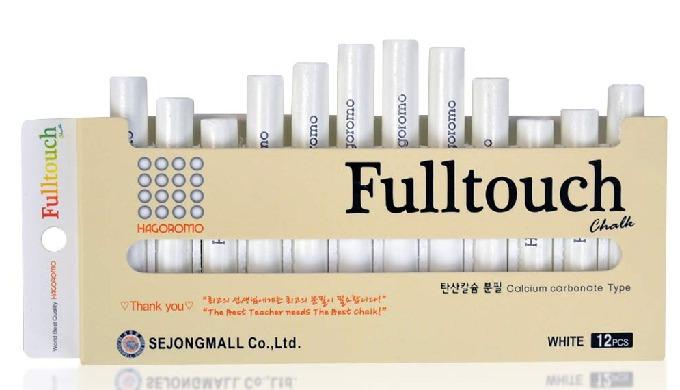 HAGOROMO Fulltouch White Chalk [12 pcs]/1 BOX / SEJONGMALL