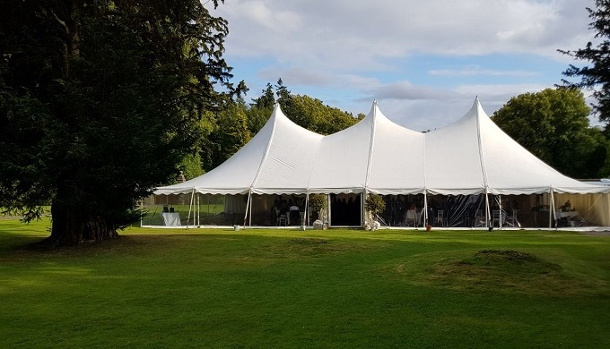 Wedding marquee hire & Traditional pole tent marquees and the stunning New Century wedding marquees ...