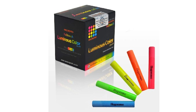 Fulltouch Luminous Color Chalk [20 pcs/5 colors]/1 BOX