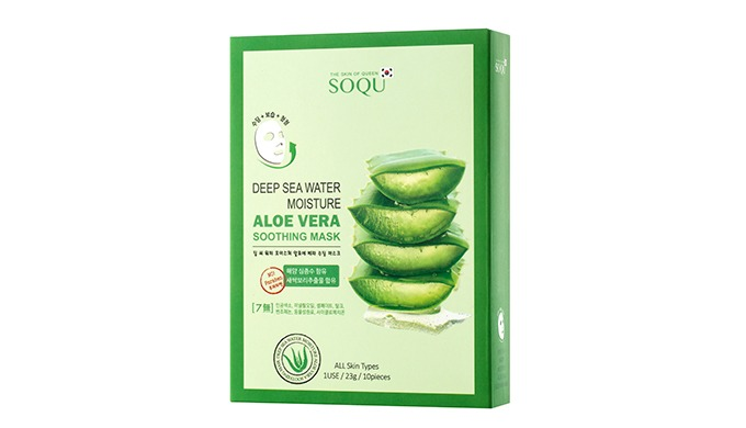 1. It contains 97 % of the Aloe Vera Extract from Jeju Island, calming the damaged skin and rapidly ...