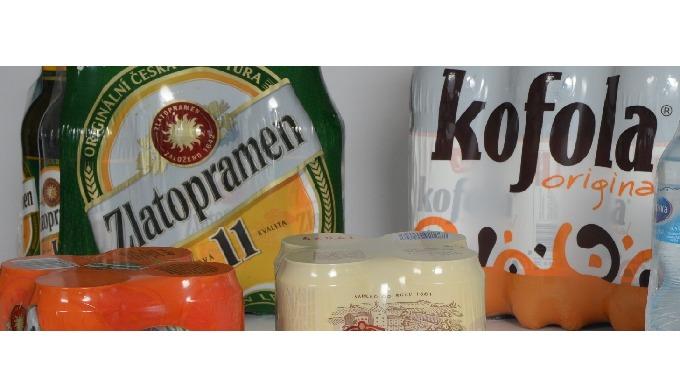 Plastové fólie pro skupinová balení nápojů