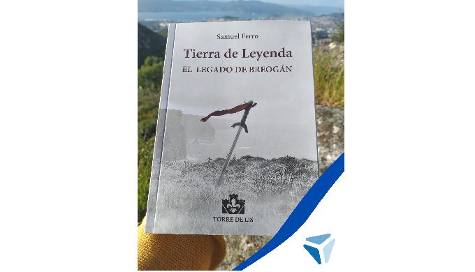 Samuel Ferro, empleado de CIL Logística, lanza su nuevo libro 'Tierra de Leyenda: el legado de Breogán'