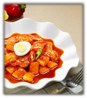 Tteokbokki (Rice Cake)