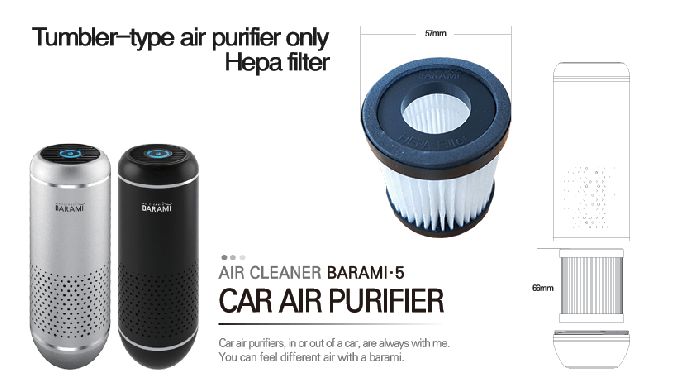 [BA5-1801B] Vehicle air purifier