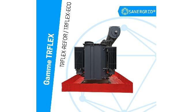 Solutions souples de stockage de transformateurs électriques à huile : - Stockage temporaire de tran...