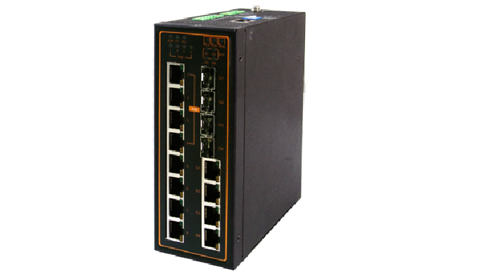 EH7512 Series / Industrial Ethernet Switch / Industrial Managed Switch