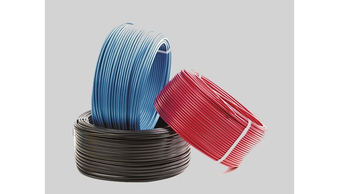 FR Building Wire Insulated Single Core Multi-stand Copper Unsheathed Cable conforming to IS 694:2010