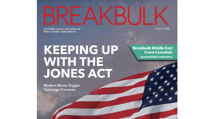Breakbulk Magazine Issue January 2020