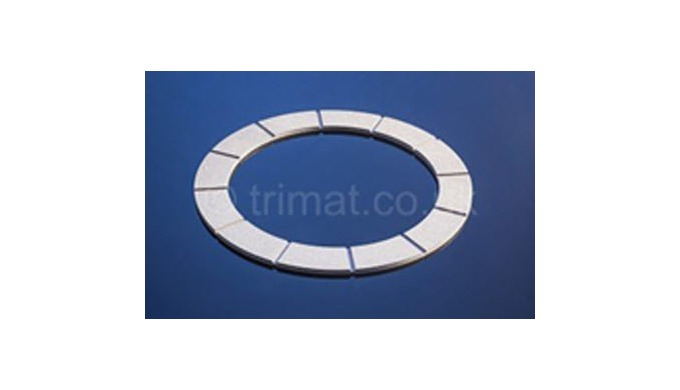 Trimat friction materials are specified on a wide range of electromagnetic brakes and clutches. The ...