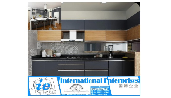 Send us your Plan and Budget we can design and Ship the Modular Kitchen (s) Railings, Also Undertake...
