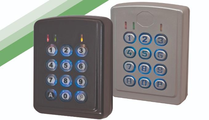 Gama CL (CL-3C-PL y CL-3C): Teclado exclusivo autónomo para alarma y control de acceso
