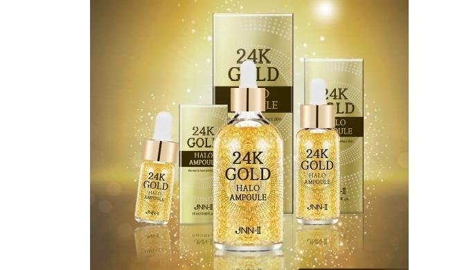 24k Gold Halo Ampoule (Whitening, Anti-Wrinkles) / JOYLIFE