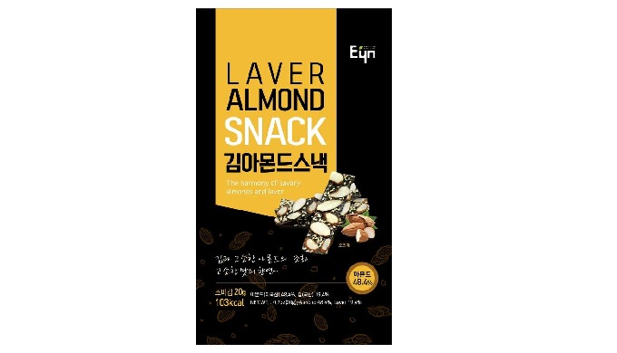 LAVER ALMOND SNACK - Health Snack, Health Food