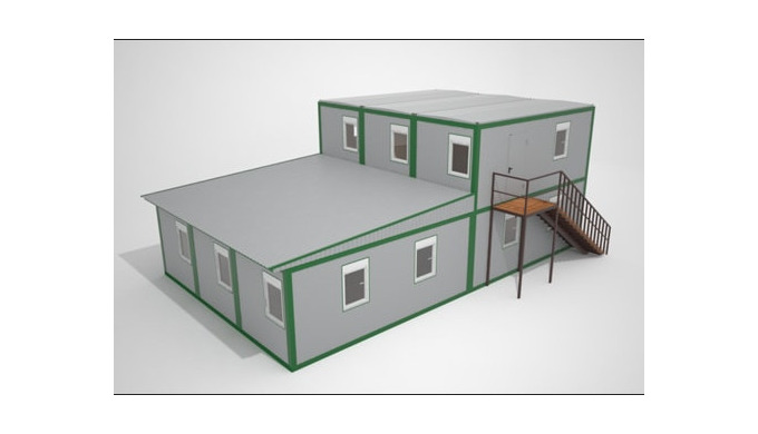 Комплектация готовых модульных отелей