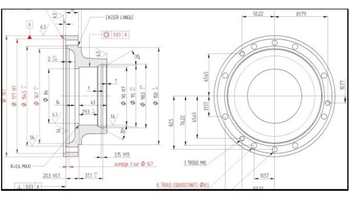 Solid Edge 2D Drafting est un logiciel cao 2d gratuit de dessin industriel et dessin technique, comp...