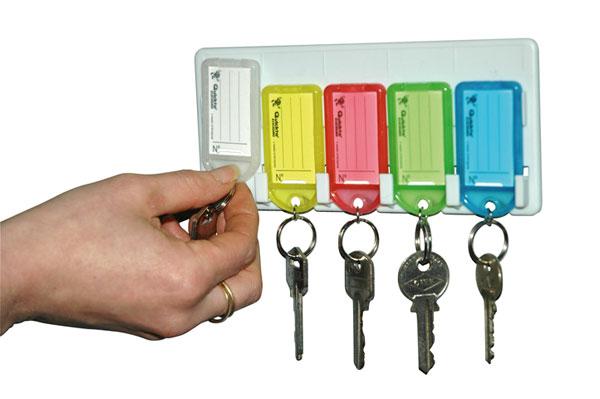 Solution alternative à l'armoire à clés !Pratique et économiqueFaible encombrement et fixation facil...