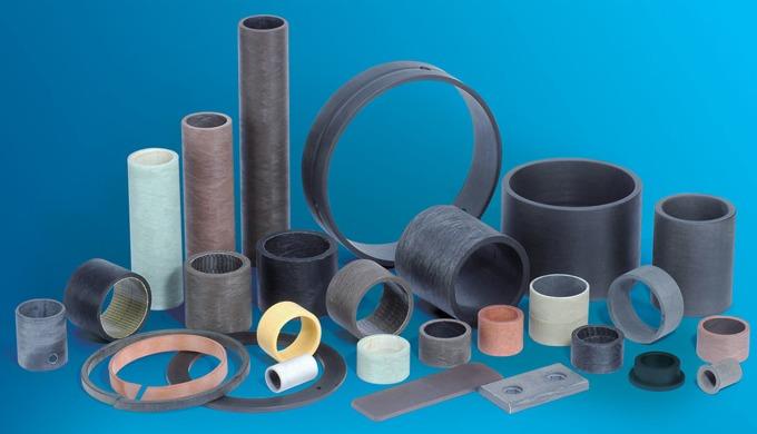 Faserverbund-Gleitlager für anspruchsvolle Anwendungsfälle Faserverbund-Gleitlager sind sehr gut für...