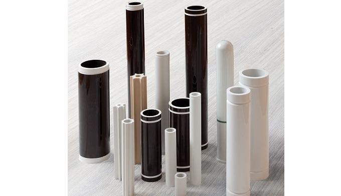 Porcelain tubes