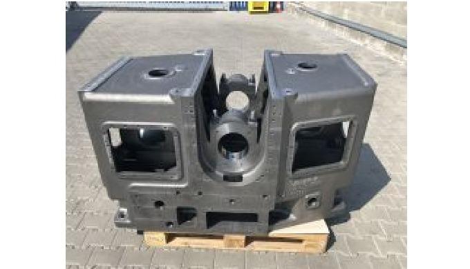 CNC horizontálně frézované a soustružené díly z oceli a litiny