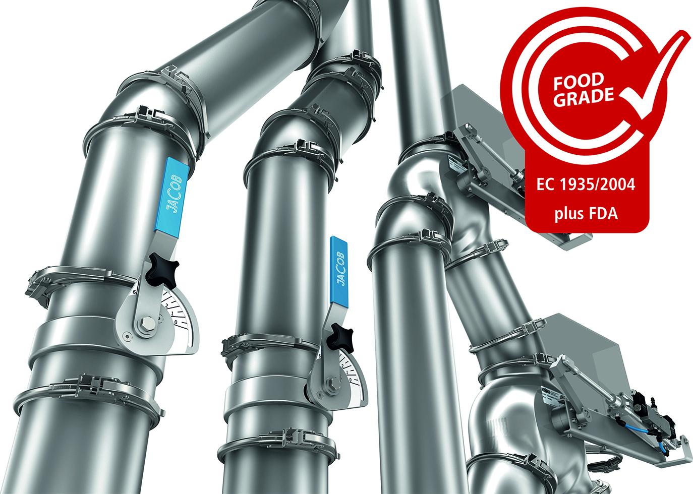 Potrubní systémy - stavebnicový potrubní systém JACOB