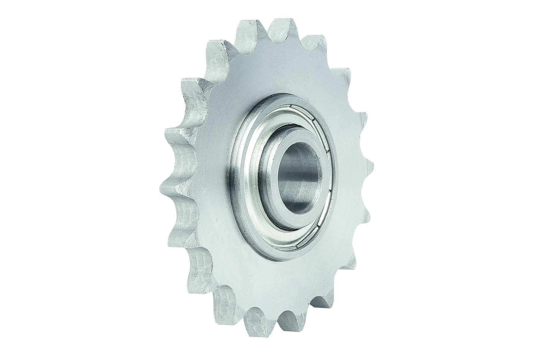 Material: Sprocket steel C45. Ball bearing made from ball-bearing steel. Version: Sprocket black oxi...