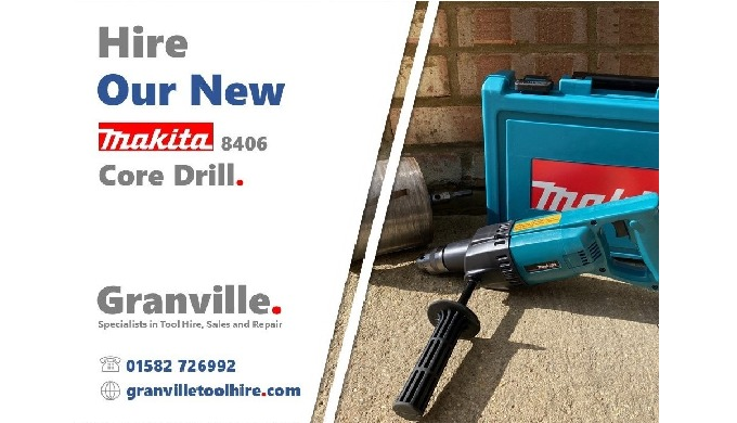 We're excited to add this Makita 8406 Core and Hammer Drill to our drill and breaker equipment hire ...