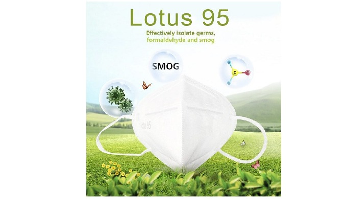 Lotus 95 Nonwoven 3D Mask-Disposable Face Mask