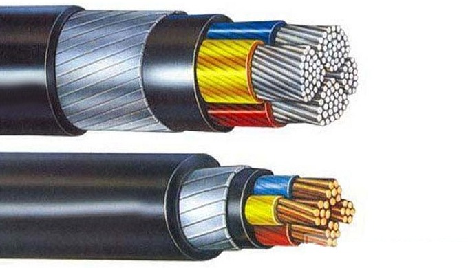 Single core and multi-core cables with copper or aluminum conductor, PVC insulated and PVC sheathed,...