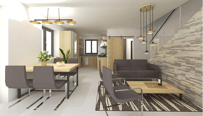 Navrhuji bytové i komerční interiéry a vytvářím jejich fotorealistické vizualizace. Pro obchody nebo...