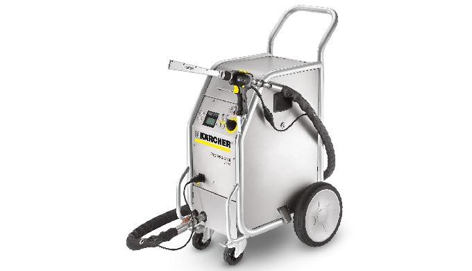 Les nettoyeurs cryogéniques Kärcher permettent un nettoyage sans eau, sans détergent et sans résidus...
