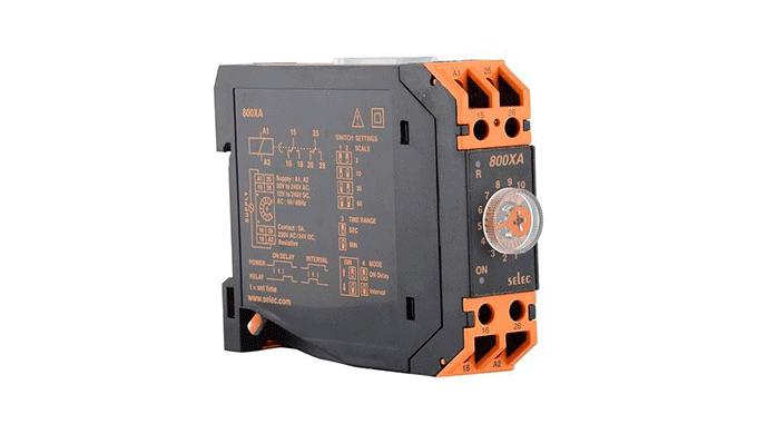Ronak Switchgear - wholesaler and distributor of SELEC DIN Rail Timer (800 Series) in India Buy SELE...