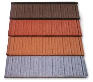 Snow Melting Metal tile