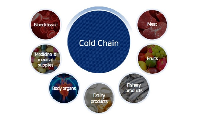 Rail transport services | cold chain system
