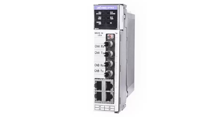 The OCX fiber media converter is a true plug-and-play module engineered specifically for Rockwell Au...