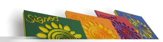 Plastové desky pro reklamní průmysl - víceúčelové desky Signeo Signeo je nový materiál pro reklamní ...