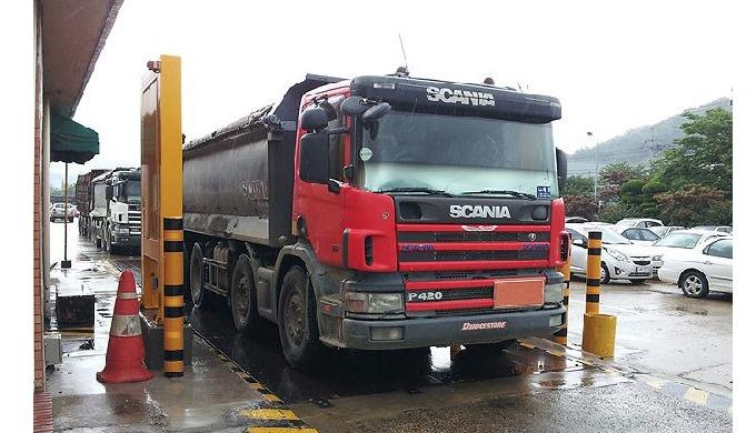 VPM-7000_Monitor de contaminación radiactiva para camiones