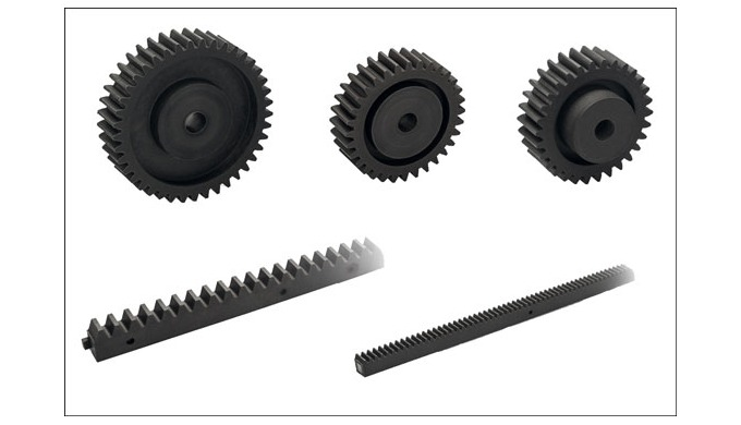 New Elesa ZCR and ZCL modular gear racks and spur gears