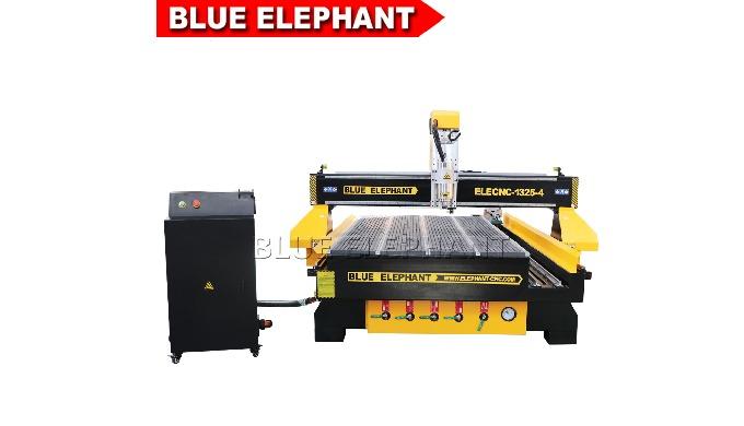 Elefante azul 4 eixo de refrigeração de água do eixo de madeira cnc para arylic portas de madeira
