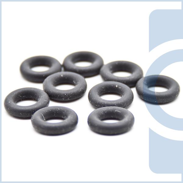 O-Ringe, die auch Nullringe oder Rundringe genannt werden, sind in verschiedenen Werkstoffen im Hand...