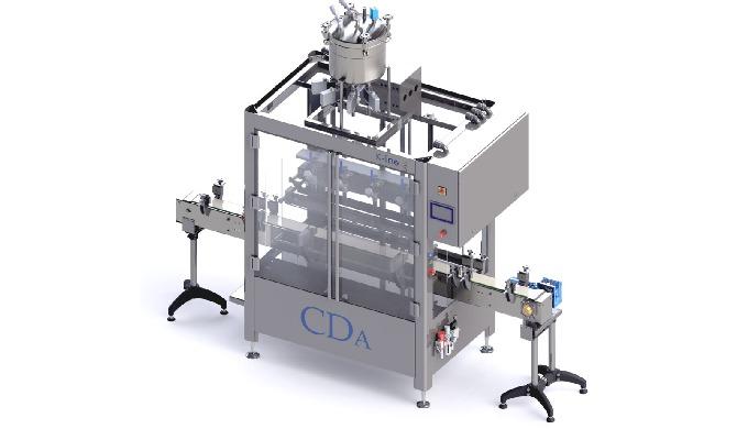 Conçue par CDA, la K-Line S est une doseuse et remplisseuse linéaire automatique capable de prendre ...