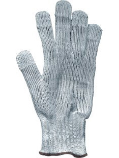 Working protective gloves resistant to cutting