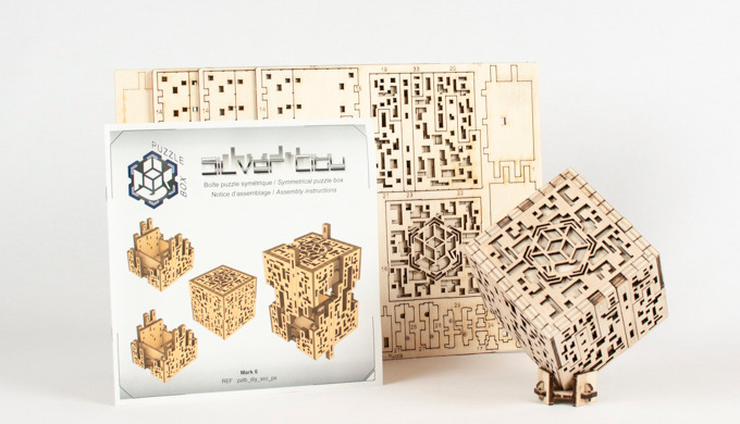 KIT Silver City pour fabriquer soi-même sa puzzle box Construisez votre Silver City grâce à cette ve...