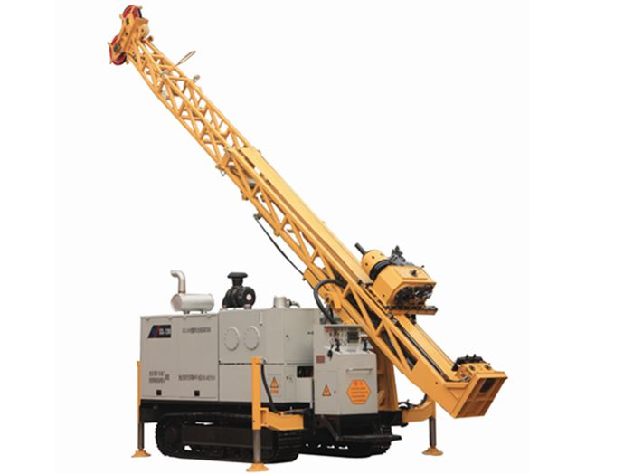 Application The XDL-1800/1200track type full hydraulic core drilling for core drilling with diamond ...