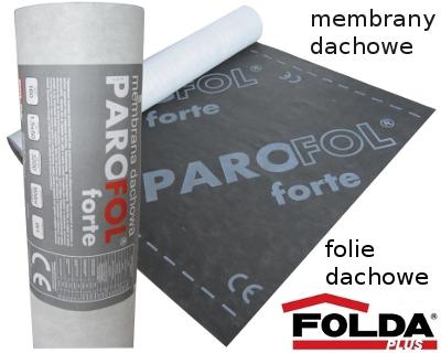 Membrana dachowa PAROFOL forte 160g/m2 - 1,5m x 50m