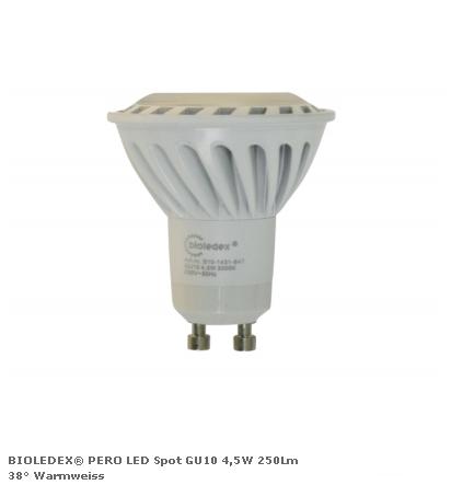 Светодиодная лампа серии PERO 220V 4,5Вт 250Лм 3000K