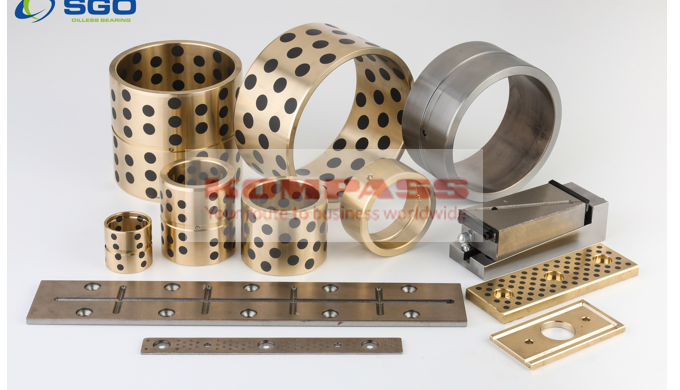 Bushing and plates for injection molding machine