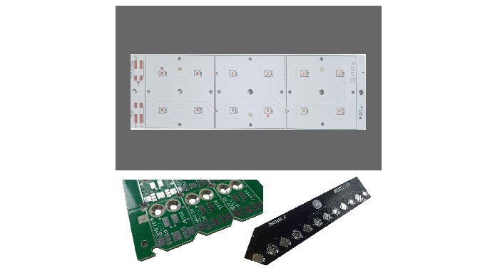 Application: Led Lightning and power Management Technology: IMS printed circuit board long up to 1.5...